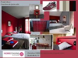decoration pour chambre d ado planche d orientation déco pour une chambre d ado en gris et