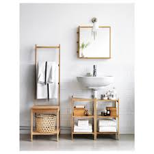 bathroom over the toilet ladder shelf towel storage bathroom