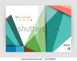 3d low poly shapes design business stock vector 502149277