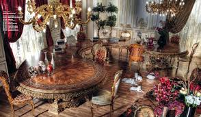 italian curved dining table in baroque styletop and best italian