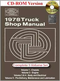 1978 ford truck shop manual ford motor company david e leblanc