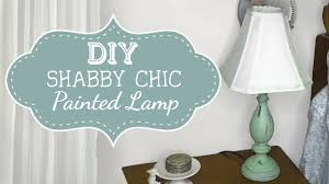 diy how to paint shabby chic lamp furniture tutorial painting
