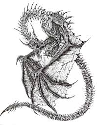 8 best images of awesome drawings of dragons awesome dragon
