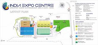 Greater Noida Metro Map by Venue Map U2013 India Expo Centre