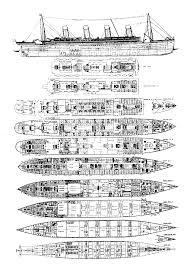 titanic the ships plans joeccombs2nd loversiq