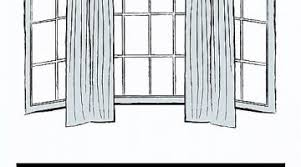1000 Ideas About Bay Window How To Make Curtains For A Bay Window New Curtain Rods For Bay