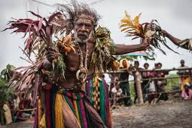 most unique traditions in west papua
