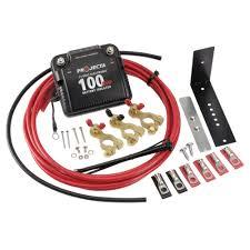 12v 100a electronic isolator kit projecta