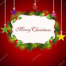 merry christmas greeting card gift card or invitation card eps