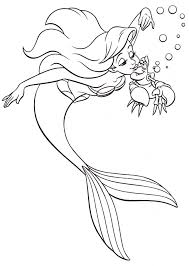ariel princess coloring pages coloring page