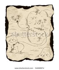 treasure map pirate treasure map stock images royalty free images vectors
