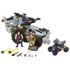 true heroes military hovercraft toys