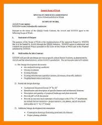 10 statement of work template consulting biology resume