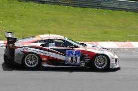 lexus lfa race car toyota gt 86 lexus lfa nissan gt r class wins at nurburgring 24