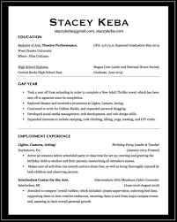 Child Actor Resume Professional And Acting Résumé