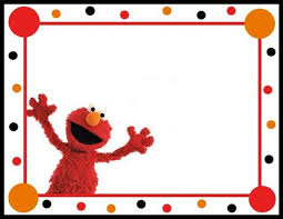 template simple elmo and abby cadabby birthday invitations with