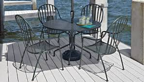 Wrought Iron Commercial Bistro Chair Woodard Patio Furniture Patiosusa Com
