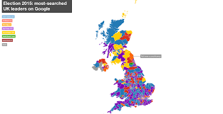 Uk Election Map by New Google Map Tips Cameron To Win Your Election 15