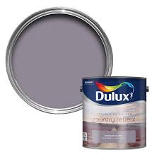 dulux travels in colour heather climb purple matt emulsion paint