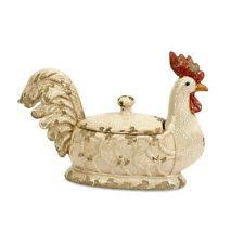 Rooster Decor For The Kitchen Roosters U0026 Chickens Décor Figurines Ebay