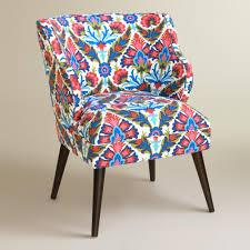 Patterned Upholstered Chairs Design Ideas Felicity Firecracker Audin Upholstered Chair World Market 440