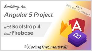 bootstrap tutorial epub building an angular 5 project with bootstrap 4 and firebase