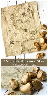 Treasure Maps Printable Treasure Map Kids Activity