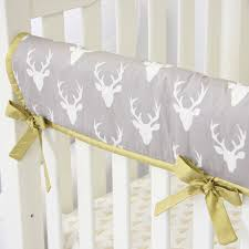 Deer Crib Sheets Woodlands Deer Crib Rail Cover Caden Lane