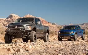 dodge vs ram 2012 ford raptor vs 2012 ram runner comparison truck trend