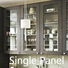 Kitchen Cabinet Glass Door Kitchen Cabinet Glass Doors Single Panel Door Replacement Inserts