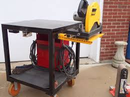 diy portable welding table portable welding table with equipment mounts welding tables and