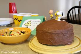 charlie brown thanksgiving dinner menu fun food ideas for a peanuts birthday party