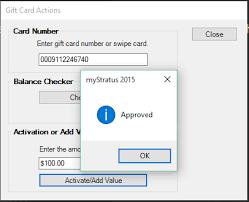 gift card software spectra mystratus desktop cayan gift cards