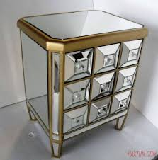 Mirrored Night Stands Nightstands Mirrored Furniture Decor Buffet Furniture Mirror