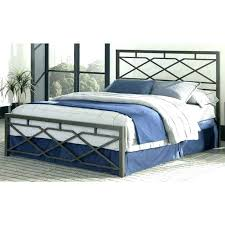 Metal Bed Frame Headboard Metal Bed Frame With Headboard Black Polished Iron Bed With