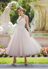 wedding dress tea length wedding ideas