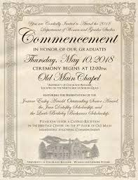 commencement invitation wgst commencement women gender studies of