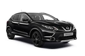 nissan black car old new limited run flagship nissan qashqai black edition launched