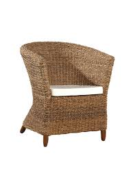 furniture wicker chair by seagrass furniture for dining room