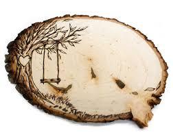 simple wood burning patterns trees google search wood burning