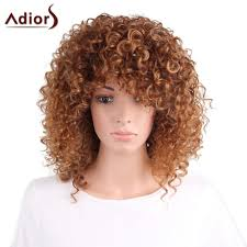 wigs for halloween synthetic wigs for women cheap best curly and short synthetic