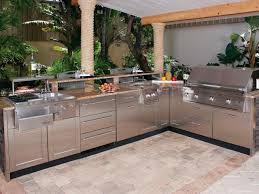 tempting sophisticated modern kitchen summer grill with outdoor
