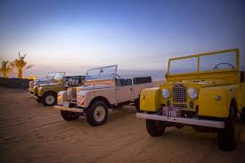land rover safari retro sand safari doing dubai u0027s deserts in style cnn travel