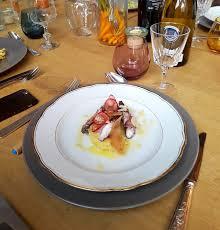 cuisine poulpe poulpe à la skordalia recette spéciale 140 ans de neff