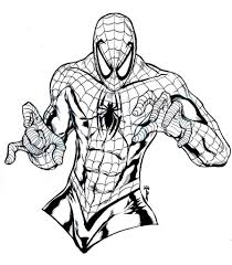 spider man coloring page fablesfromthefriends com