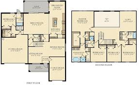 Sorrento Floor Plan Bonita Landing New Homes Bonita Springs Fl
