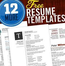 free creative resume templates download resume template and