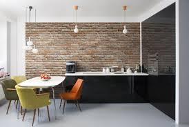 wallpaper for dining room wallpaper for home decor komar brick wall mural kitchen dining