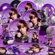 justin bieber wrapping paper justin bieber theme party themeaparty