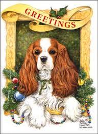 cavalier king charles spaniel cards cavalier